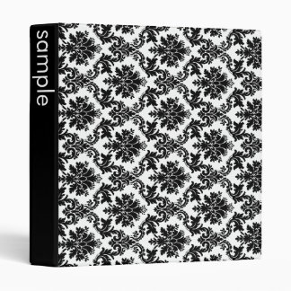 Damask home decor binders