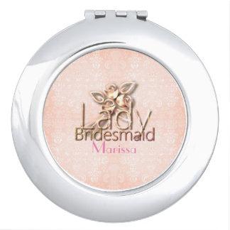 Damask-Lady-Bridal_Delicate_Wedding-Peach_Favor Travel Mirrors