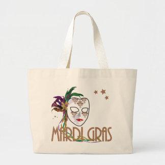 Damask Mardi Gras Mask Bag