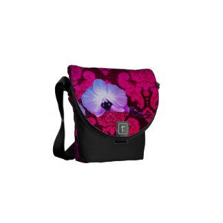Damask Messenger Bag