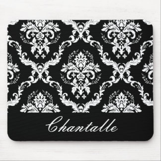 Damask Mouse Pad