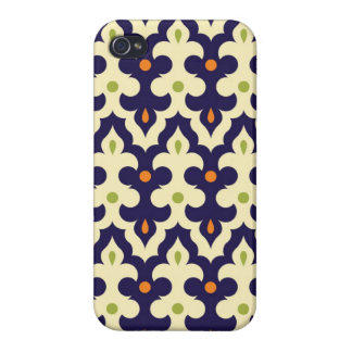 Damask paisley arabesque Moroccan pattern girly iPhone 4/4S Covers