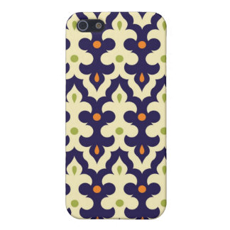 Damask paisley arabesque Moroccan pattern girly iPhone 5/5S Case