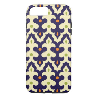 Damask paisley arabesque Moroccan pattern girly iPhone 8 Plus/7 Plus Case