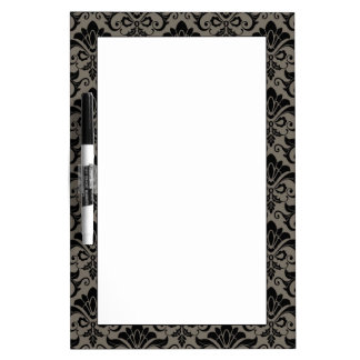 Damask Pattern 2 Dry Erase Board
