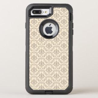 Damask pattern 3 OtterBox defender iPhone 7 plus case