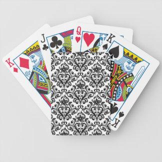 Damask Pattern Card Decks