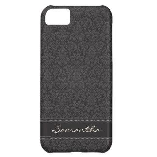 Damask Pattern iPhone 5 Case-Mate Case (black)