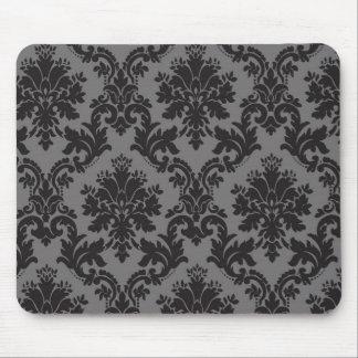 Damask pattern mouse pad