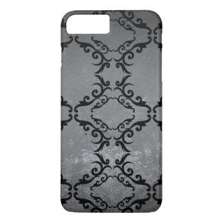 Damask Pattern / Slate iPhone 8 Plus/7 Plus Case
