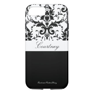 Damask Personalized Iphone 7 Case