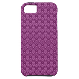 Damask Plum Berry Pattern iPhone 5/5S Cases