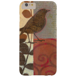 Damask Sparrow Barely There iPhone 6 Plus Case
