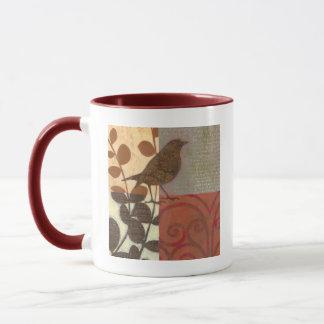 Damask Sparrow Mug