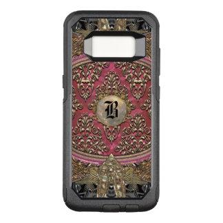 Damask Speigaford Baroque VIII Monogram OtterBox Commuter Samsung Galaxy S8 Case
