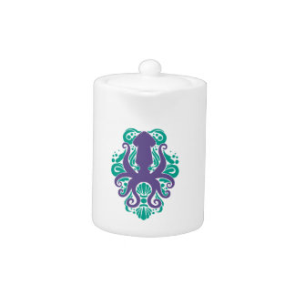 Damask Squid Ultra Violet on Arcadia