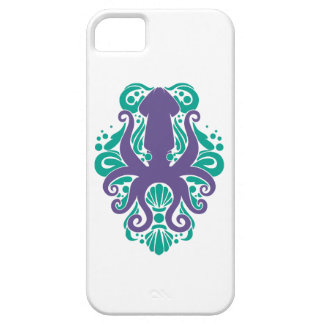 Damask Squid Ultra Violet on Arcadia iPhone 5 Case