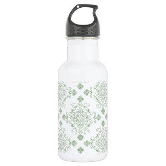 Damask style 532 ml water bottle