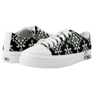 Damask style Low-Top sneakers