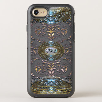 Damask Veyla Baroque 6/6s Monogram OtterBox Symmetry iPhone 8/7 Case