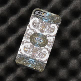 Damask Veyla Baroque Romantic Monogram Tough iPhone 6 Case