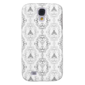 Damask vintage insect fly nature girl goth pattern galaxy s4 case