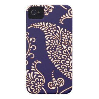 Damask vintage paisley Blackberry Bold case