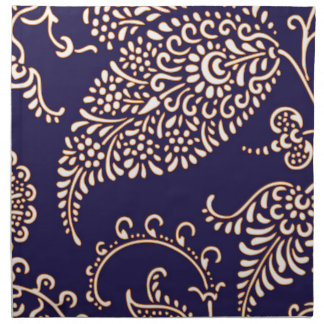 Damask vintage paisley girly floral chic pattern napkin