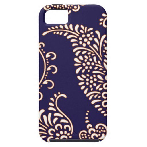 Damask vintage paisley girly floral henna pattern iPhone 5 covers