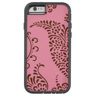 Damask vintage paisley girly floral henna pattern tough xtreme iPhone 6 case
