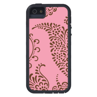 Damask vintage paisley girly floral henna pattern iPhone 5 cases