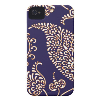 Damask vintage paisley iPhone 4S case skin