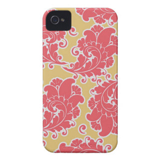 Damask vintage paisley wallpaper iPhone 4S case