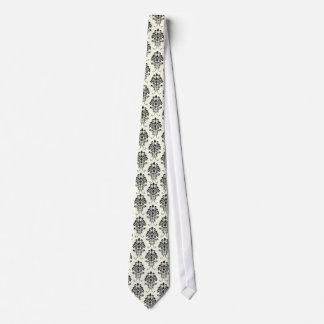 Damassé de PixDezines Florentius/black/DIY Cravate