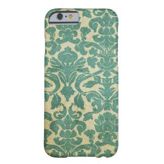 Damassé vintage de vert sauge coque iPhone 6 barely there