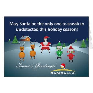 Damballa Holiday Card 2010