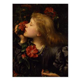 Dame Alice Ellen Terry Choosing by George Watts Postcard