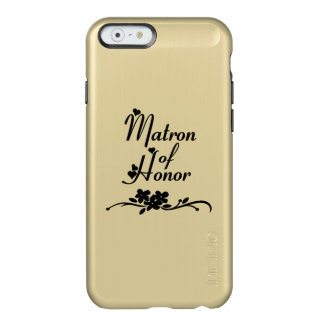 Dame de honneur de mariages coque iPhone 6 incipio feather® shine