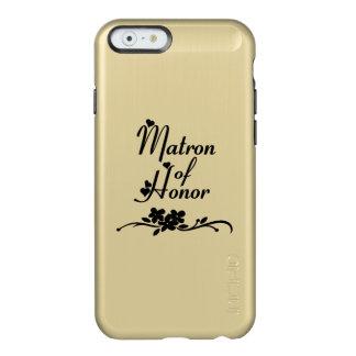 Dame de honneur de mariages coque iPhone 6 incipio feather® shine