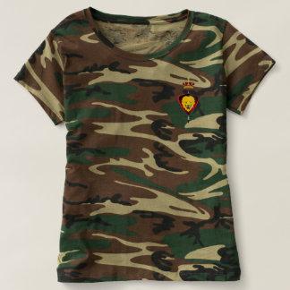 Damens camo Tshirt
