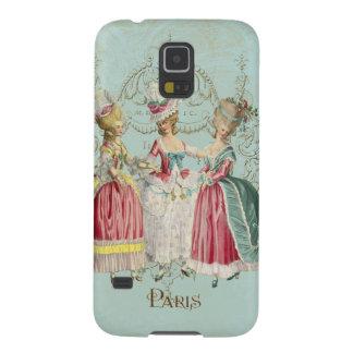 Dames de Marie Antoinette dans l'attente Protection Galaxy S5