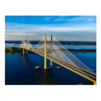 Dames Point Bridge, Jacksonville Postcard