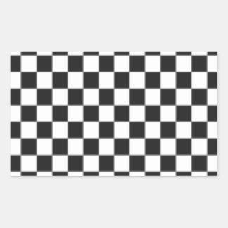 Damier Sticker Rectangulaire