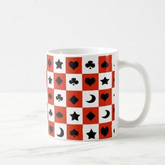 Damier Mug