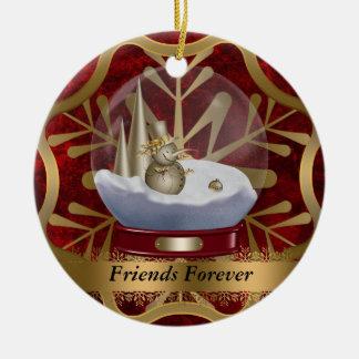 D'amis ornement de Noël pour toujours