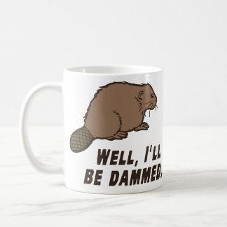 Dammed Beaver Coffee Mug