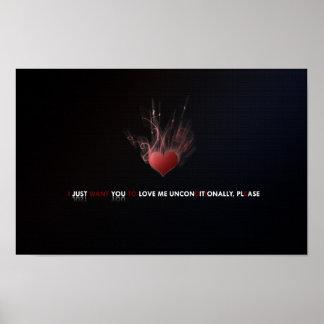 D'amour copie sans réserve poster