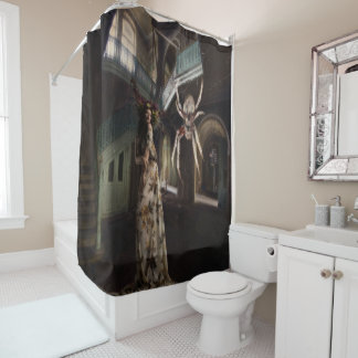 Damsel  In Distress Shower Curtain