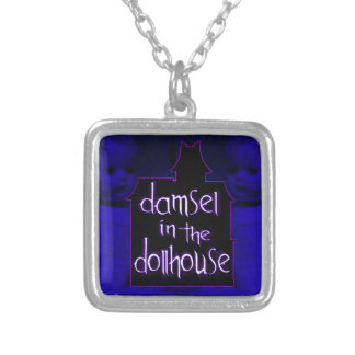 Damsel in the Dollhouse Necklace (blue/purple)