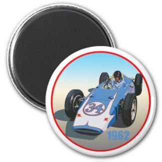 Dan Gurney 1962 Indy 2 Inch Round Magnet